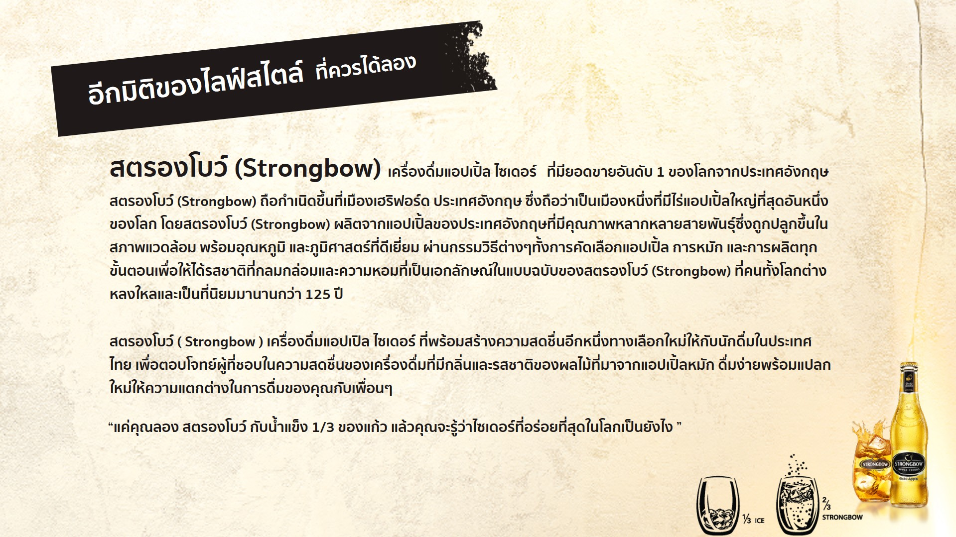 Strongbowdetial